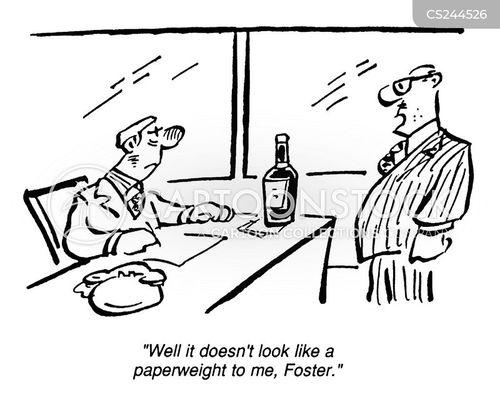 paperweight cartoon