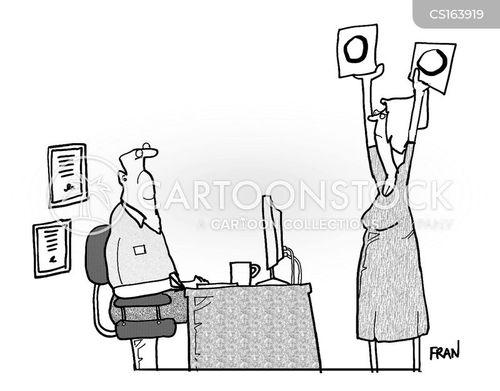 job appraisals cartoon