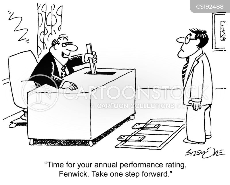 performance rating cartoon