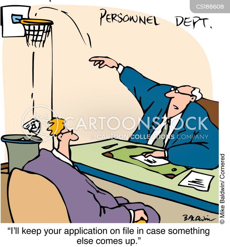 personnel departments cartoon