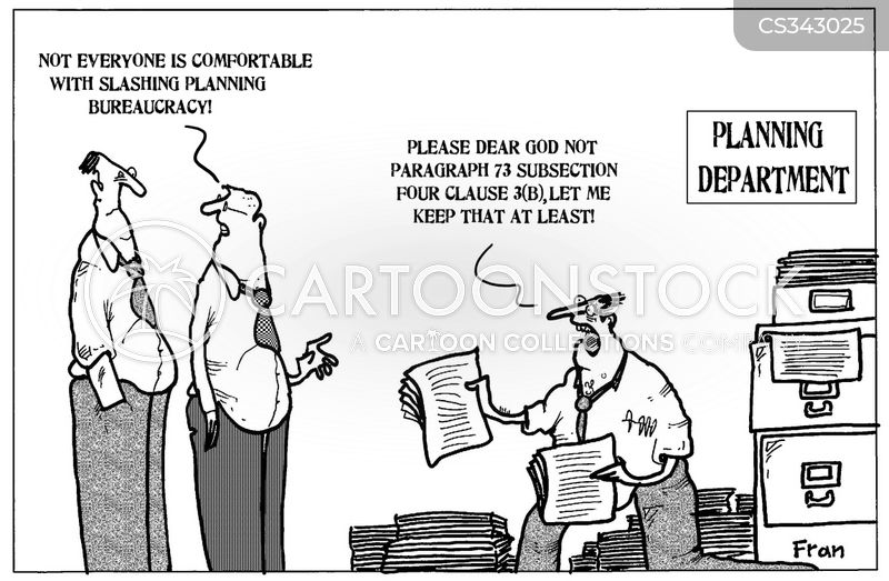 planning regulations cartoon