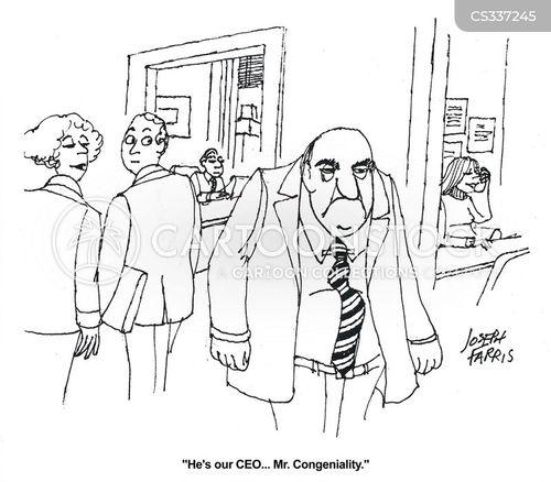 congeniality cartoon