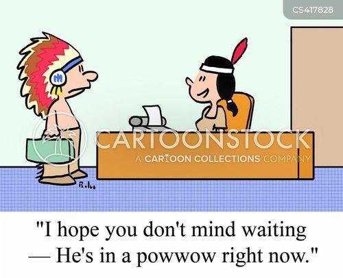 Pow Wow Cartoons Pow Wow Cartoon Funny Pow Wow Picture