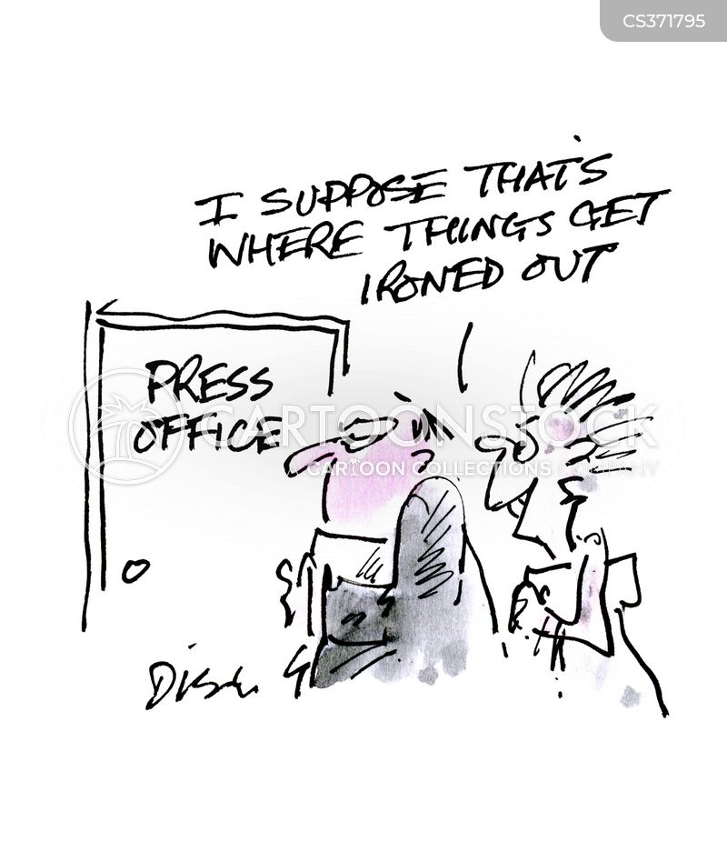 columnists cartoon