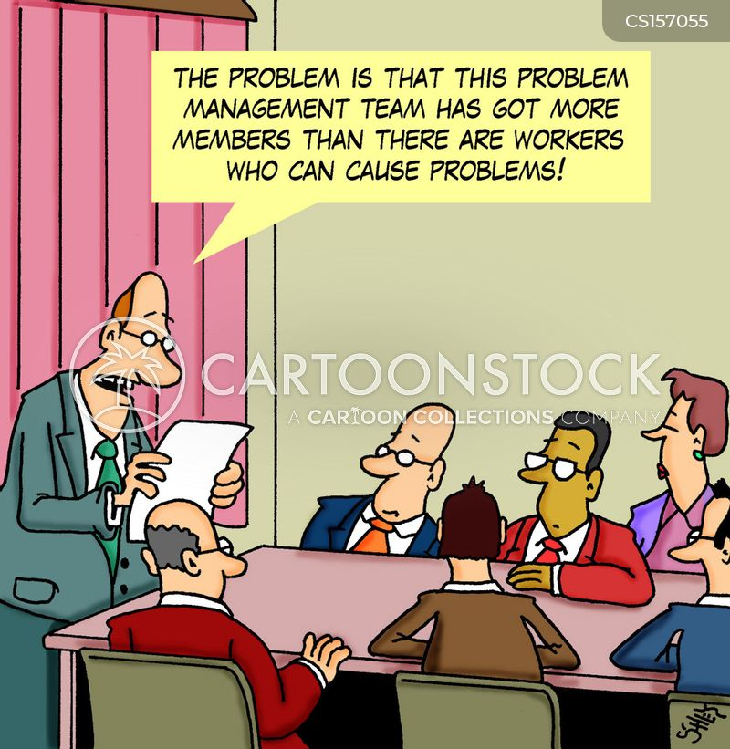 Problem Management Cartoons And Comics Funny Pictures