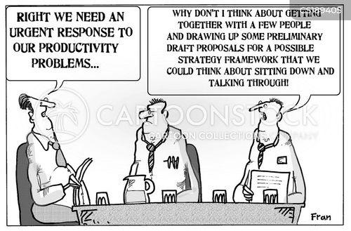 procrastinators cartoon