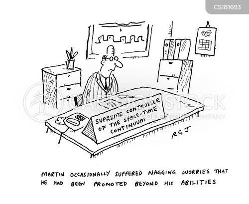 work stress cartoon