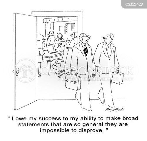 generalisations cartoon