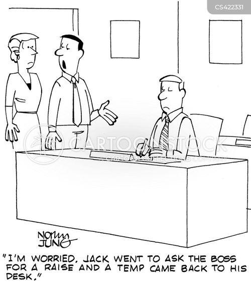 temp workers cartoon