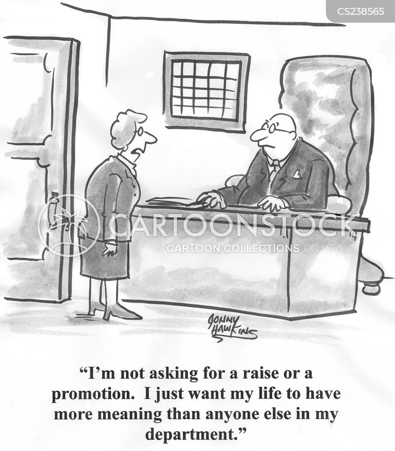 asking for promotion