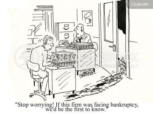 stop worrying cartoon