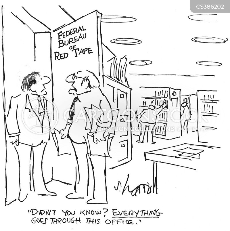 government red tape cartoon