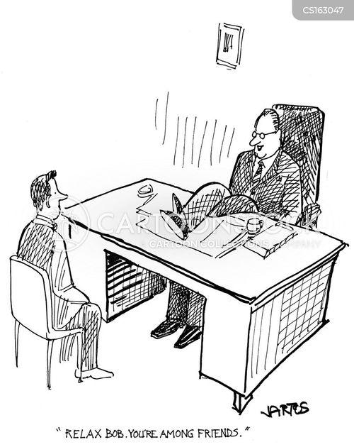 reprimanding cartoon