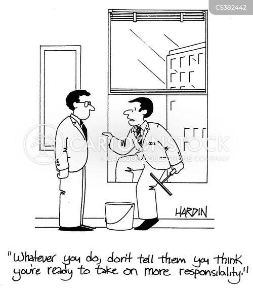 extra responsibilities cartoon