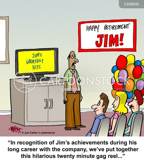 long careers cartoon