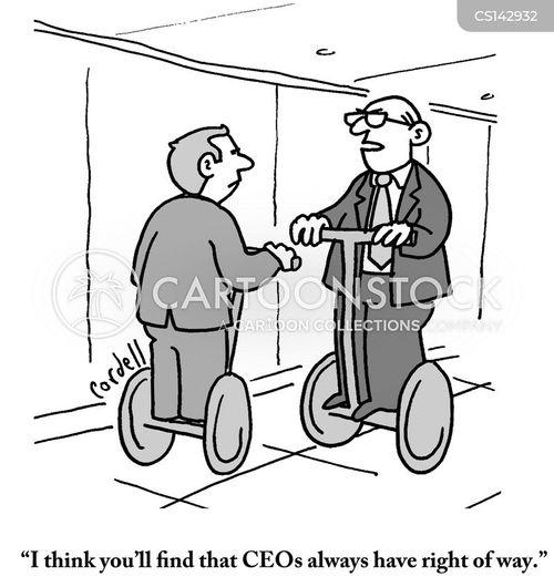 hierarchical cartoon