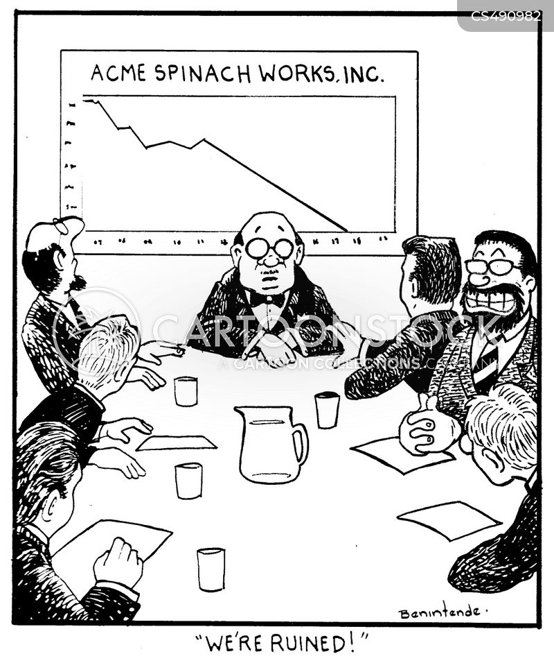 corporate spying cartoon
