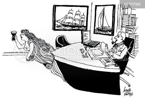 seafaring cartoon