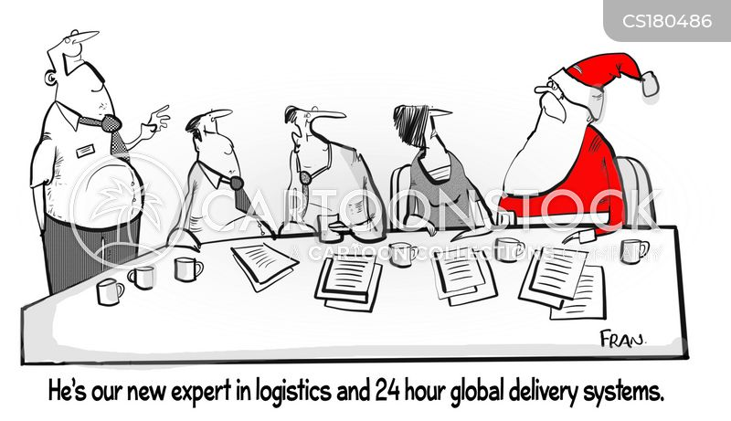 delivery systems cartoon