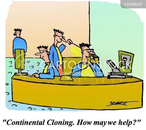 continental cartoon