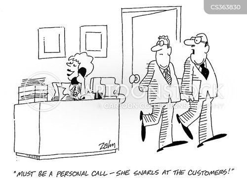 sectretaries cartoon