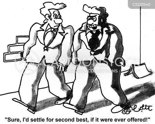 settled cartoon