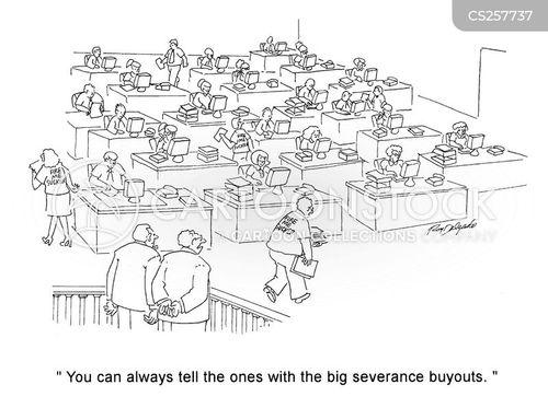 severances cartoon