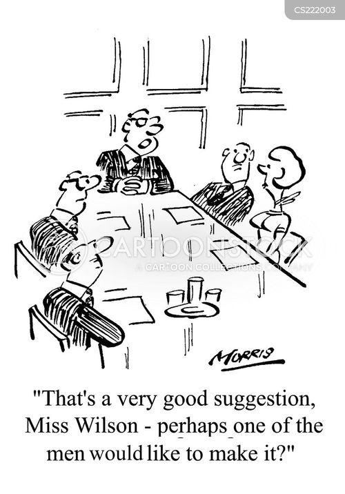 discriminated cartoon