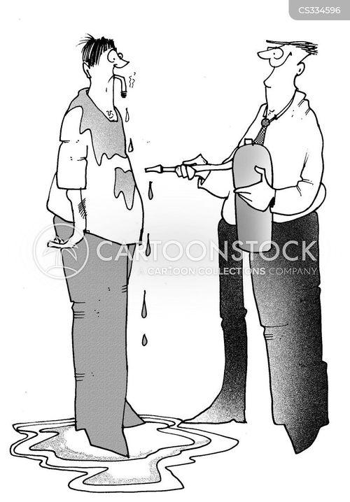 non-smokers cartoon