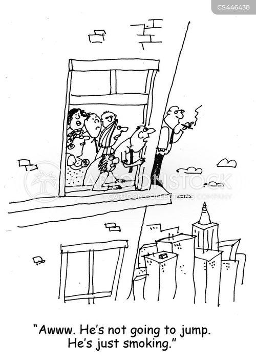 relieved cartoon