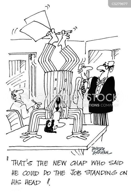 empolyee cartoon