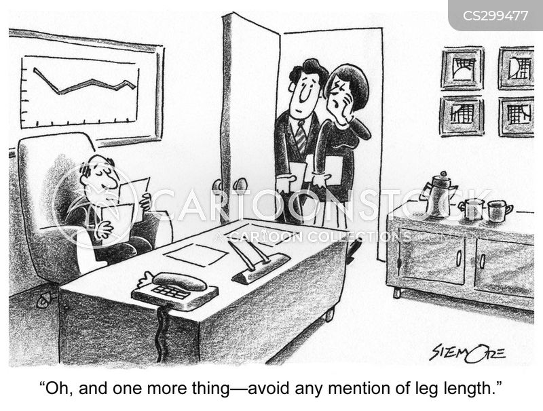leg length cartoon