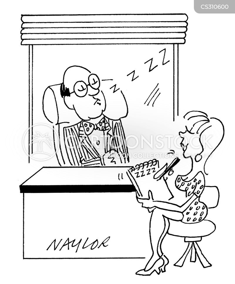 Stenographers Cartoons and Comics - funny pictures from