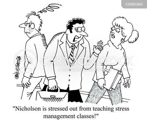 strained cartoon