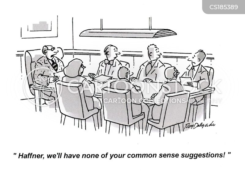 common sense cartoon