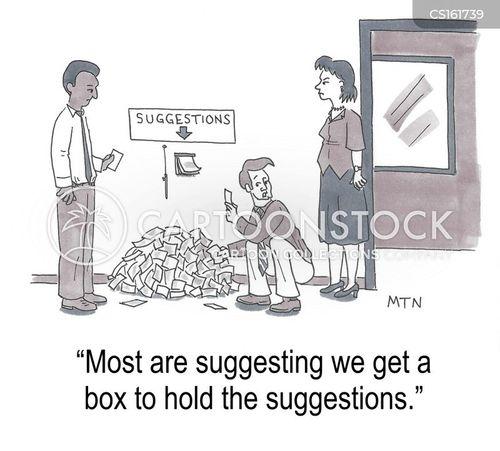 organizer cartoon