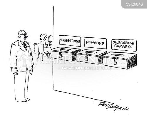 remark cartoon