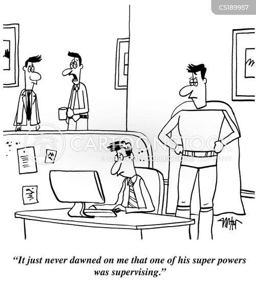 job skill cartoon