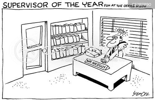 supervisers cartoon