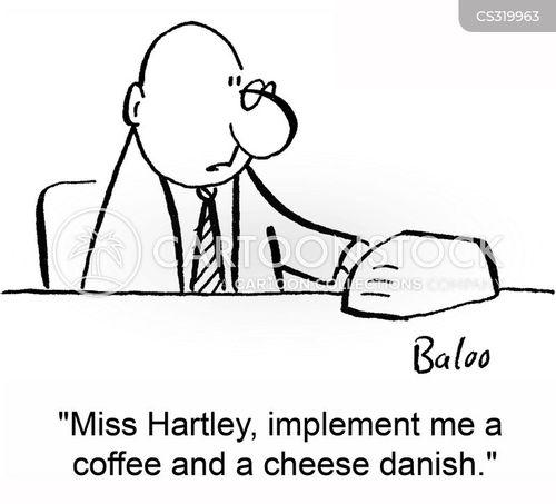 cheese danish cartoon