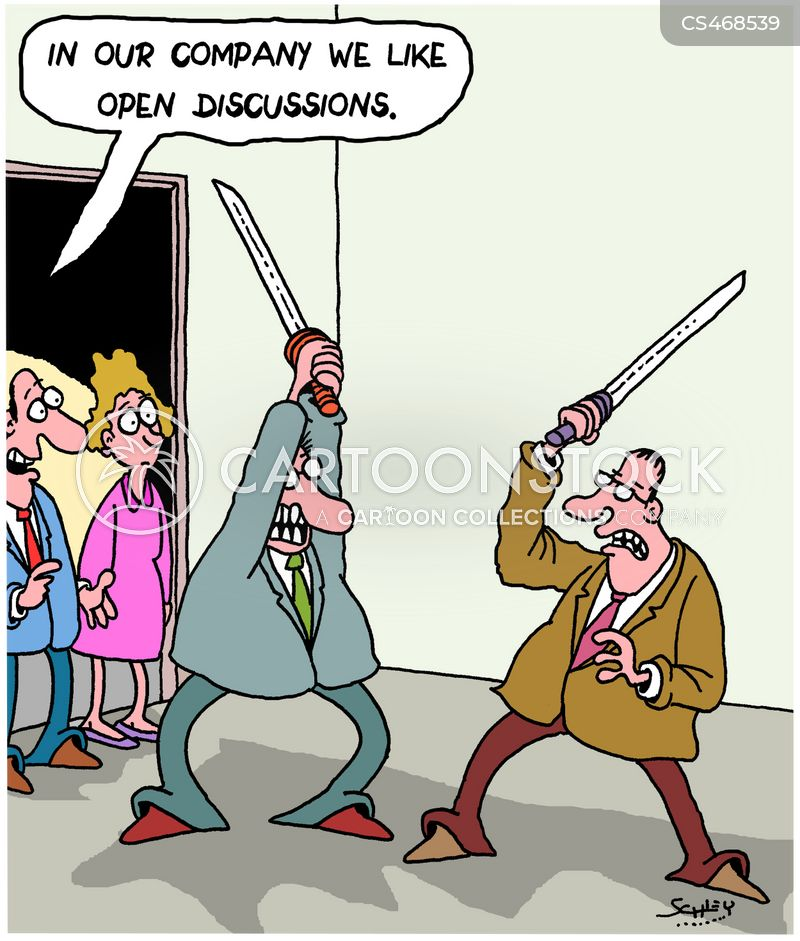professional disagreement cartoon