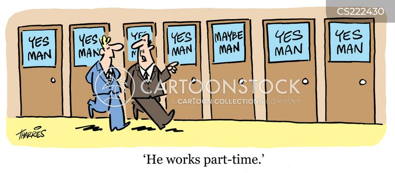 part-timer cartoon