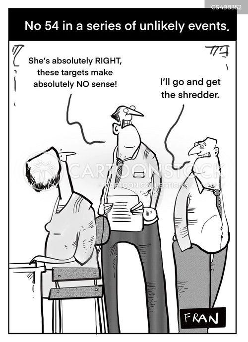 unlikely events cartoon