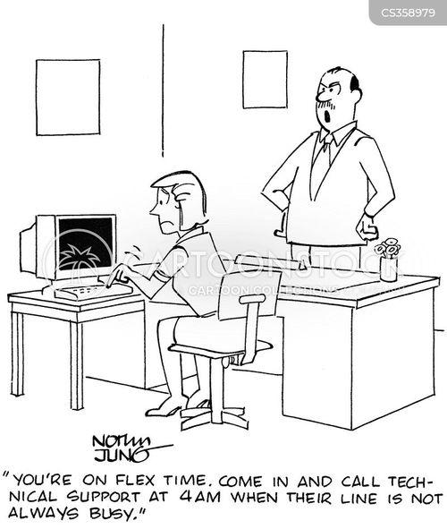 technical helplines cartoon