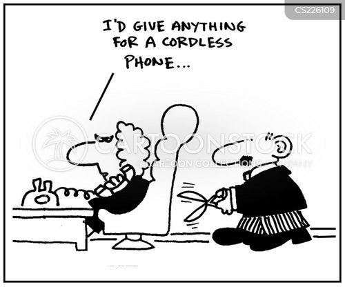 cordless phones cartoon