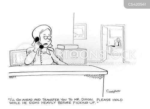 sighs cartoon
