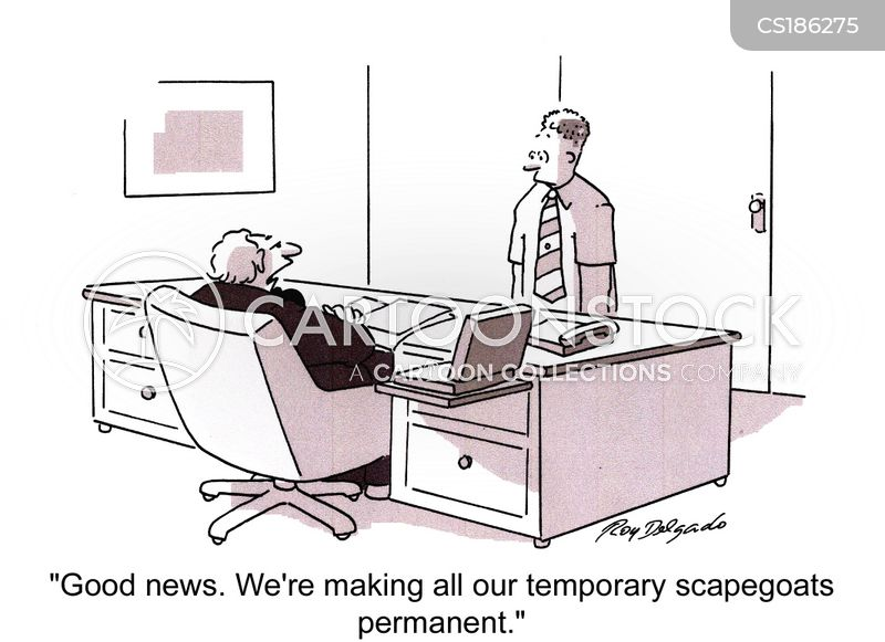temporary workers cartoon