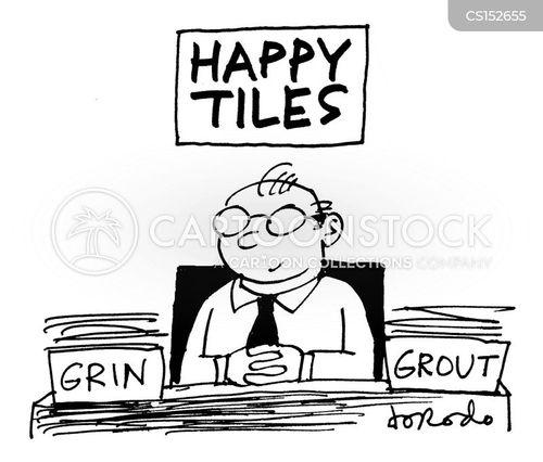 tile cartoon
