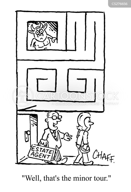 minotaurs cartoon