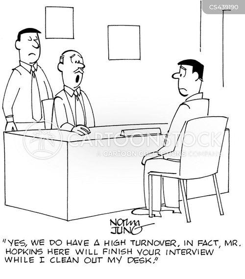turnover cartoon